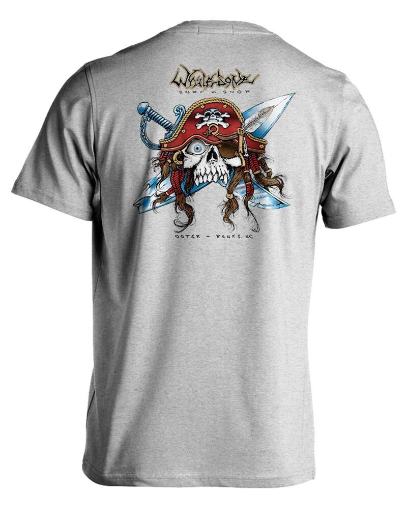 Whalebone Logo GNARLY PIRATE SHORT SLEEVE TEE