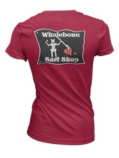 Whalebone Logo WOMENS BLACKBEARD IDEAL SHORT SLEEVE TEE