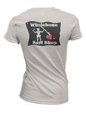 Whalebone Logo WOMENS BLACKBEARD IDEAL SHORT SLEEVE TEE