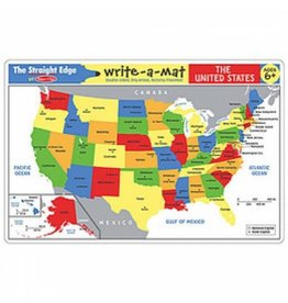 Melissa & Doug Write-A-Mat USA