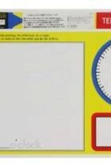 Melissa & Doug Write-A-Mat Telling Time