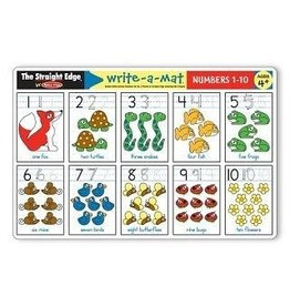 Melissa & Doug Write-A-Mat Numbers 1-10