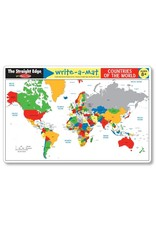 Melissa & Doug Write-A-Mat Countries of the World
