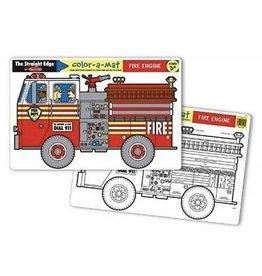 Melissa & Doug Color-A-Mat Fire Engine