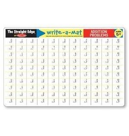 Melissa & Doug Write-A-Mat Addition Problems