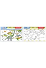 Melissa & Doug Color-A-Mat Dinosaurs