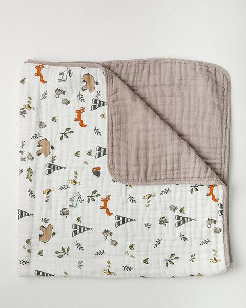 Little Unicorn Muslin Quilt
