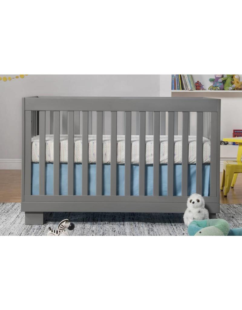 babyletto crib item grey hudson toddler white convertible with conversion bed in