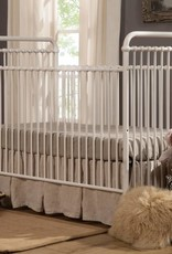 Franklin & Ben Abigail 3 in 1 Convertible Crib Distressed White Iron