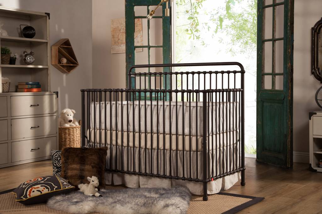 Franklin & Ben Winston 4 in 1 Convertible crib Vintage Iron