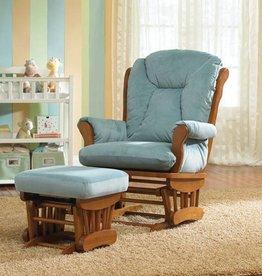 Best Chairs Manhattan Glider with ottoman
