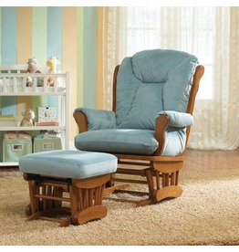 Best Chairs Manhattan Glider with ottoman