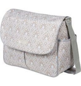 Amber Diaper Bag Blue Filagree