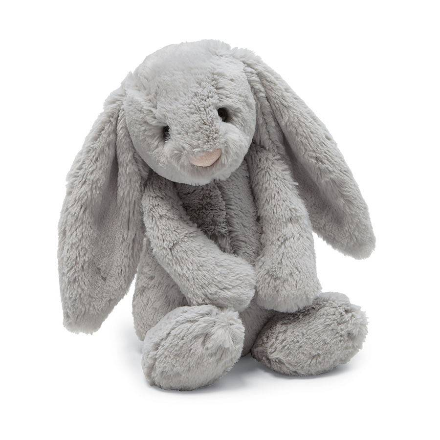 """Bashful Grey Bunny Huge 26"""""""