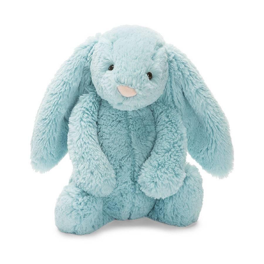"Bashful Aqua Bunny 7"""