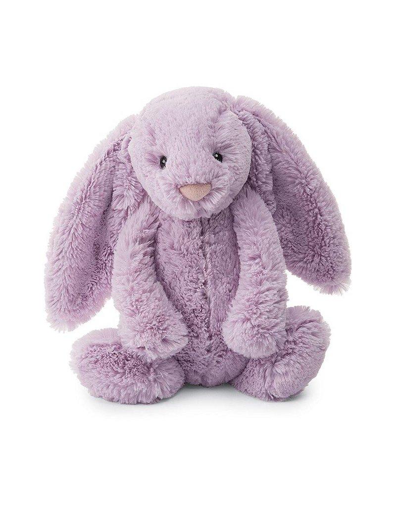 "jellycat Bashful Bunny Lilac Medium 12"""
