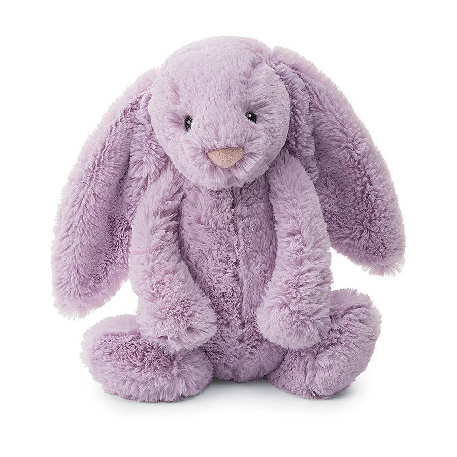 "Bashful Bunny Lilac Medium 12"""