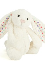 jellycat Bashful Bunny Cream Dot Medium