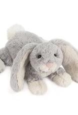 "jellycat Loppy Silver Bunny Medium 10"""