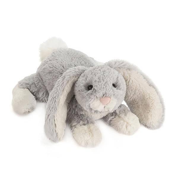 "Loppy Silver Bunny Medium 10"""