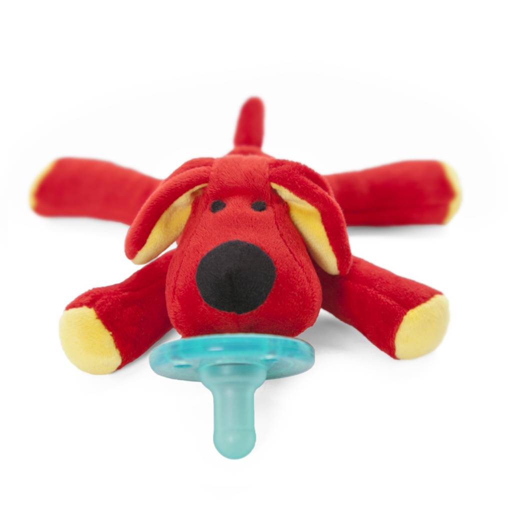 Pacifier Red Puppy