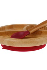 Bamboo Baby Divided Plate & Spoon