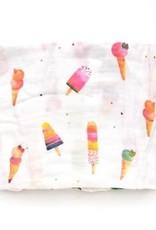 Loulou Lollipop Bamboo Muslin Swaddling Blanket