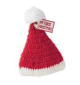 MY 1ST CHRISTMAS KNIT HAT
