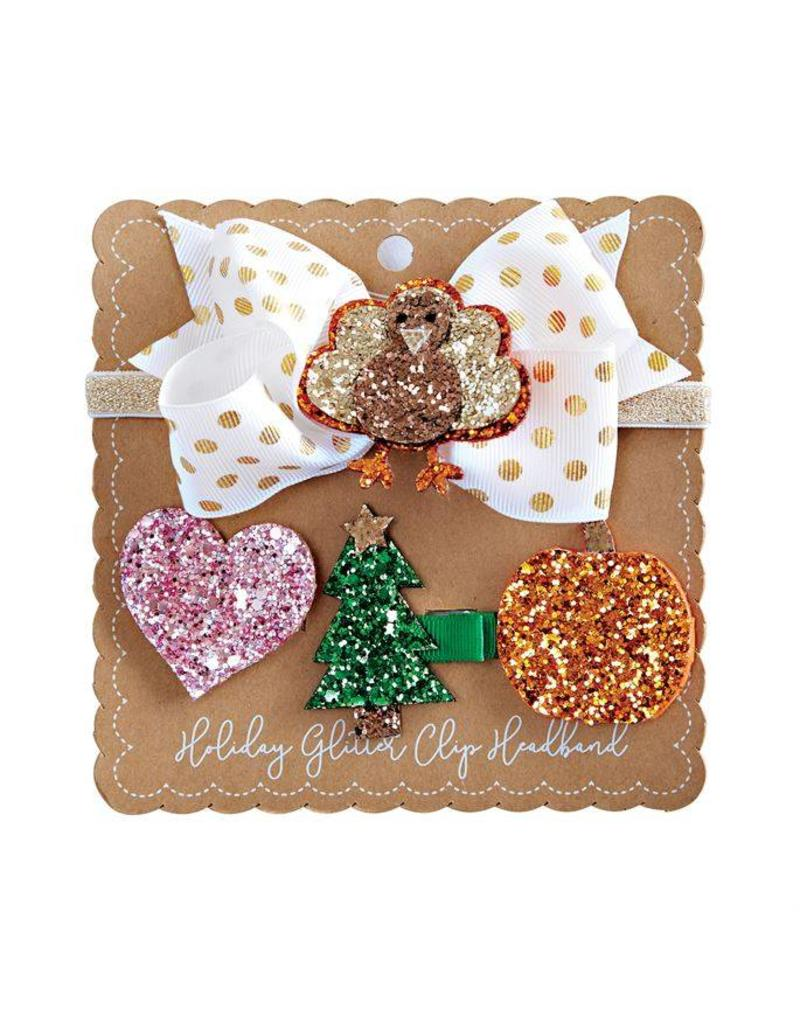 INTERCHANGEABLE HOLIDAY HEADBAND