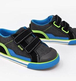 Kurkside Covell Boys Double Velcro Black