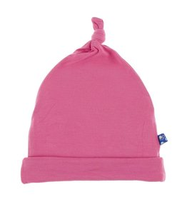 Solid Knot Hat Flamingo