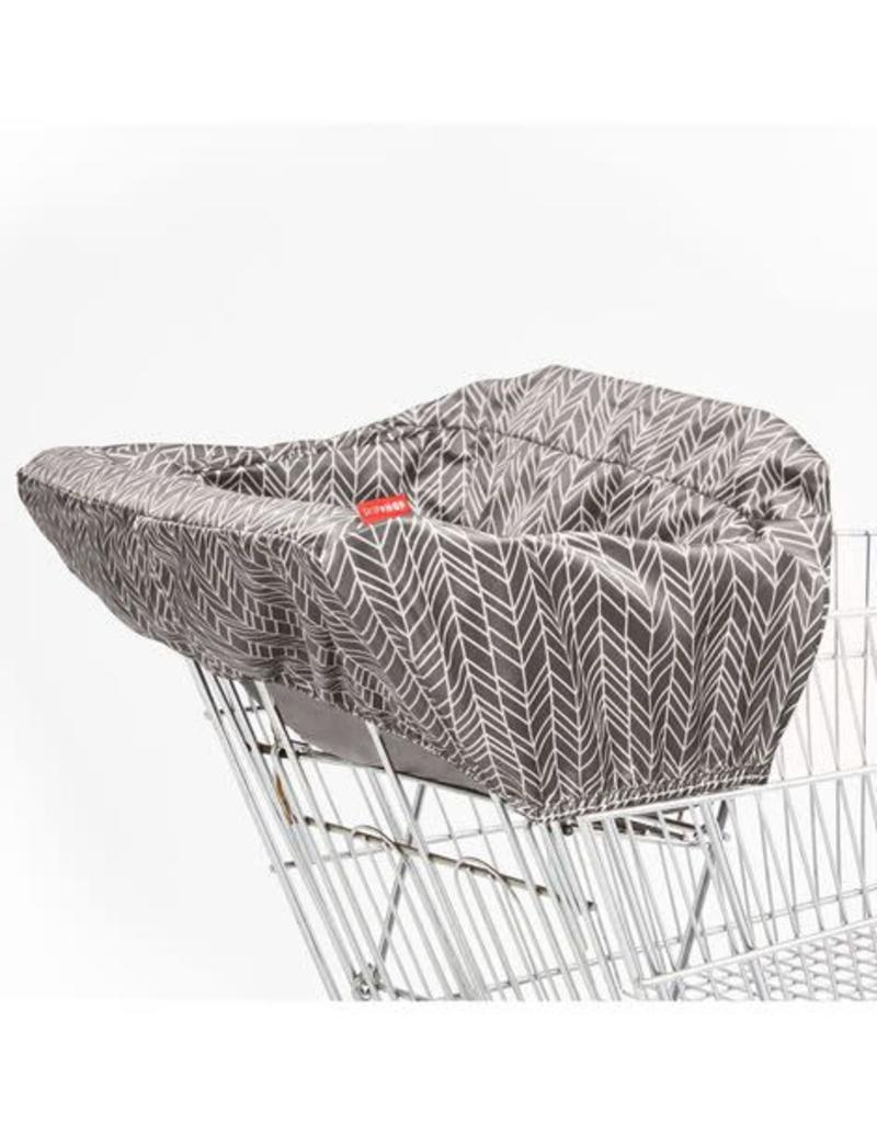 Skip Hop TC Shopping Cart Cover Grey Feather