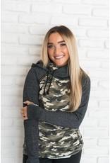 AmpersandAve DoubleHood™ Sweatshirt Camo