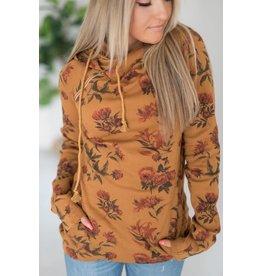 AmpersandAve DoubleHood™ Sweatshirt - Vintage Floral