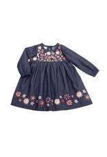 Chambray Embroidery Dress