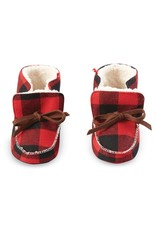 BUFFALO CHECK BOOTIES 6-12 months