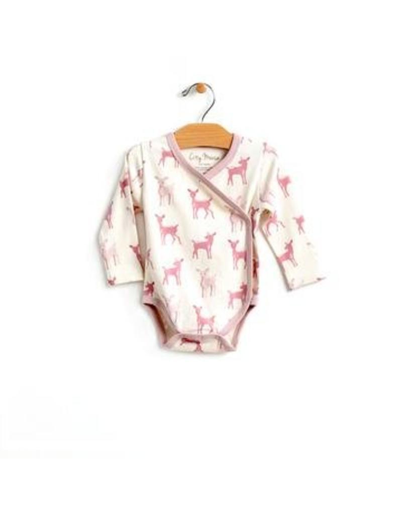 City Mouse Deer Kimono Bodysuit