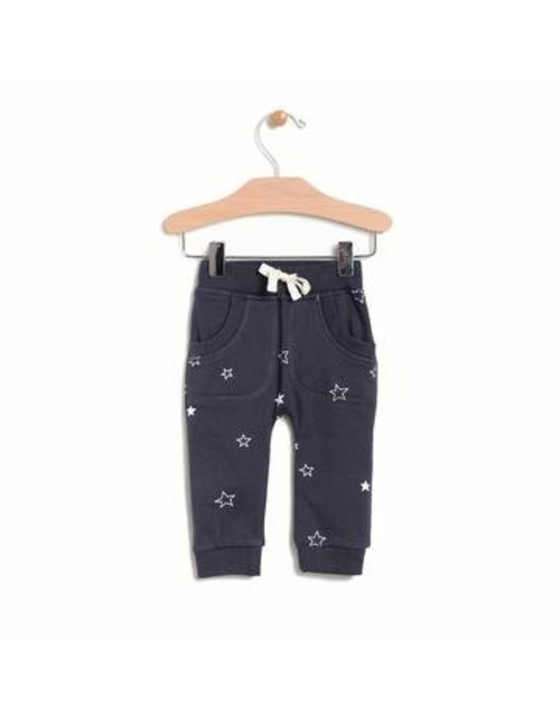 City Mouse Brushed Terry Star Jogger