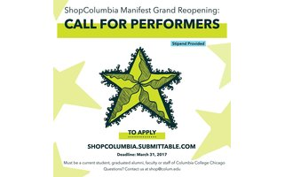 Call For Performers: Grand Reopening!