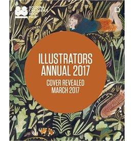 """Literature """"Illustrators Annual 2017"""" by Bologna Children's Book Fair"""