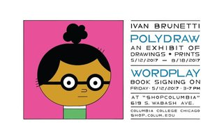 Spotlight Exhibition: POLYDRAW works by Ivan Brunetti