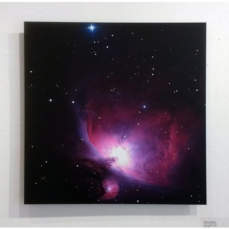 Orion's Nebula by Veronica Weisberg