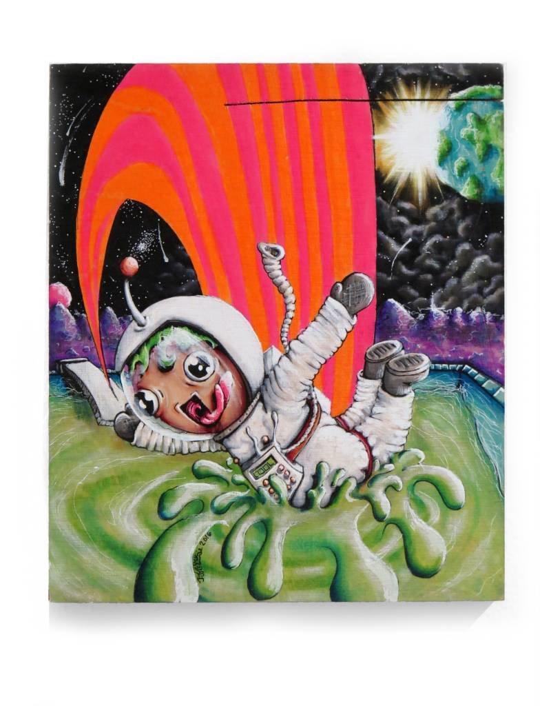 Fine Art Astronauts Day Off, JJ McLuckie