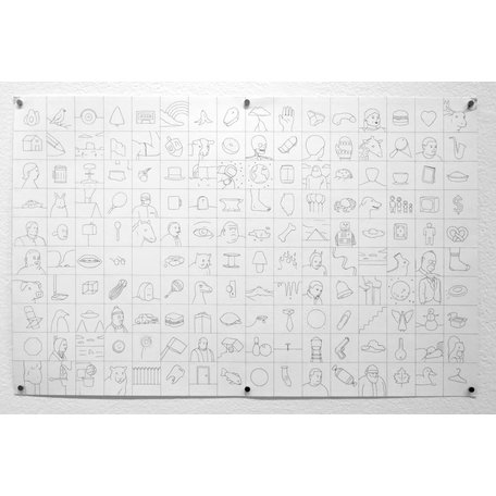 Linework 4 Endpapers by Nick Drnaso