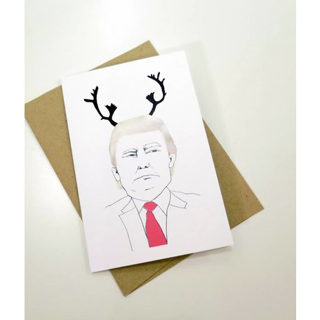 Trump Holiday Card, Kristin Taylor