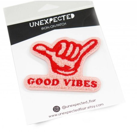 Good Vibes Chenille Patch by Jordan Hasek
