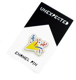 unxpected by Jordan Hasek Confetti Popper Emoji Enamel Pin by Jordan Hasek