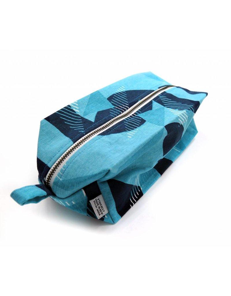 PINTL + KEYT Dop Kits, Jigsaw Blue by PINTL + KEYT