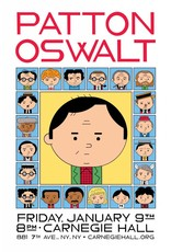 "Ivan Brunetti ""Patton Oswalt at Carnegie Hall"" by Ivan Brunetti"