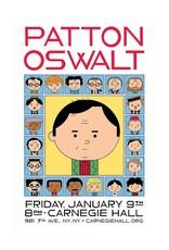 "Ivan Brunetti ""Patton Oswalt at Carnegie Hall"" by Ivan Brunetti"